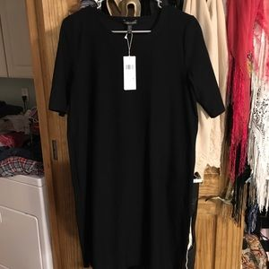 NWT Eileen Fisher Signature Crepe Dress